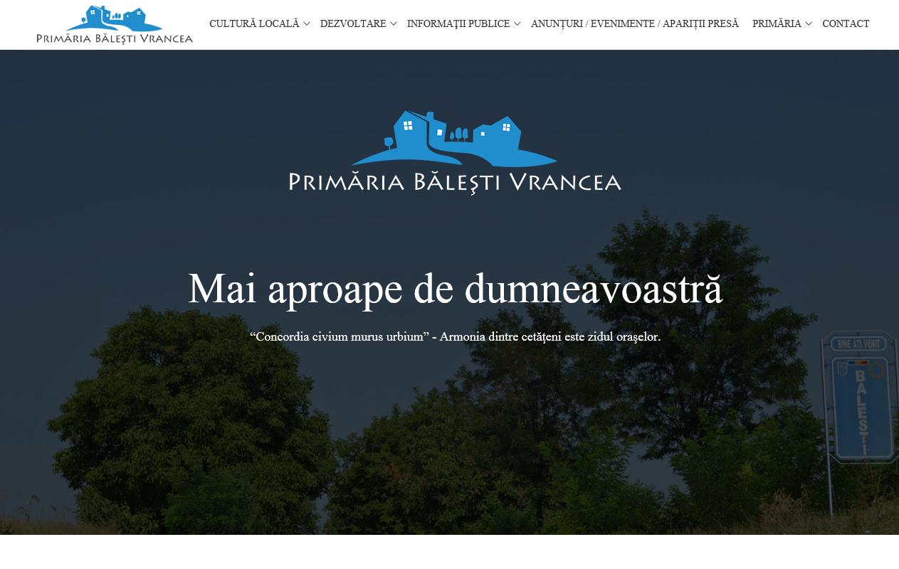 Primaria Balesti Vrancea